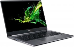 Acer Swift 3 (Design 2020) -  14''/i7-1065G7/512SSD/16G/MX250/W10 šedý NX.HJZEC.001